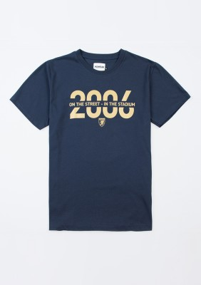 "T-shirt ""Motto"" Navy"