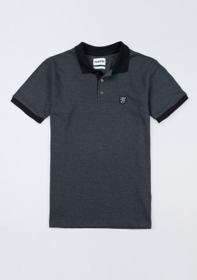 "Polo ""Contrast"" Grey"