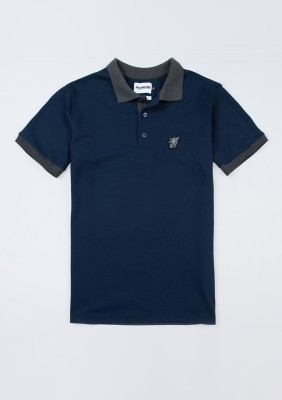 "Polo ""Contrast"" Navy"
