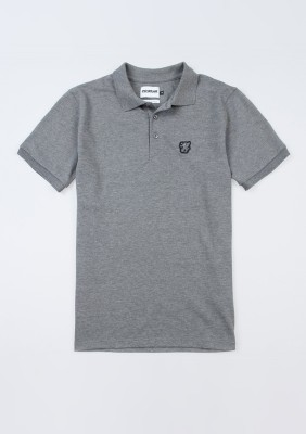 "Polo ""Basic"" Grey"