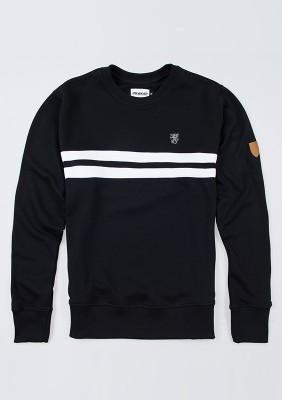 "Sweatshirt ""Basic Stripes"" Black"