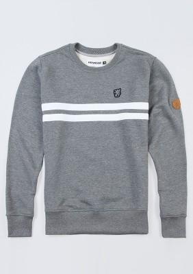 "Sweatshirt ""Basic Stripes"" Grey"