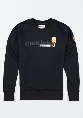 "Sweatshirt ""Matchday"" Black"