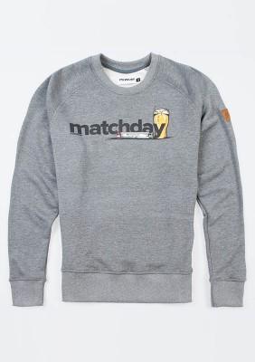"Sweatshirt ""Matchday"" Grey"