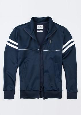 """Retro Jacket """"Brixton"""" Navy"""