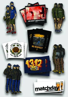 AW20 PGwear Stickers Set