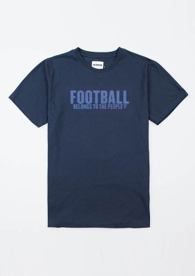 "AW20 T-shirt ""Football Belongs to the P"" Navy S"