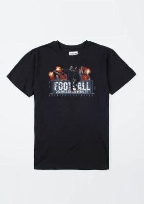 "AW20 T-shirt ""Football Belongs to the P"" Black S"