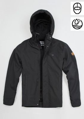"Full Face Jacket ""Attack Zip"" Black"