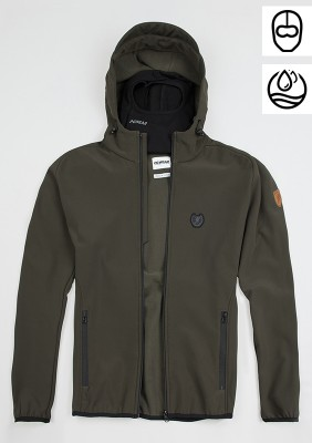 "Softshell Jacket ""Offensive"" Olive"