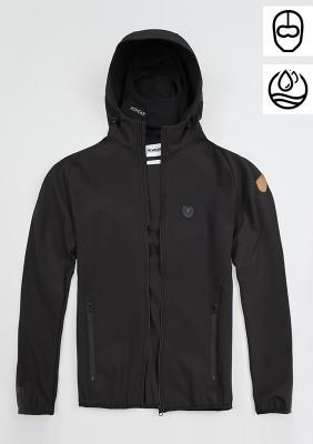 "Softshell Jacket ""Offensive"" Black"
