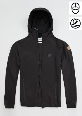 "Softshell Jacket ""Offensive"" Black"