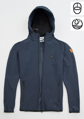 "Softshell Jacket ""Offensive"" Navy"