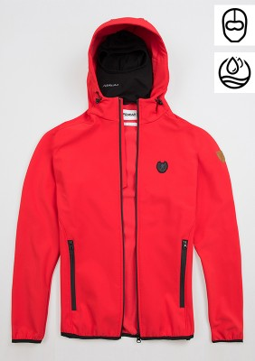 "Softshell Jacket ""Offensive"" Red"