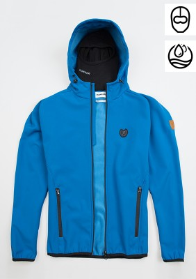 "Softshell Jacket ""Offensive"" Blue"