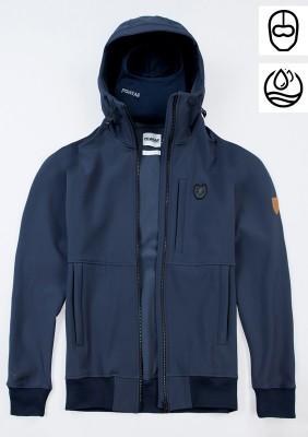 """Full Face Softshell Jacket """"Ghost"""" Navy"""