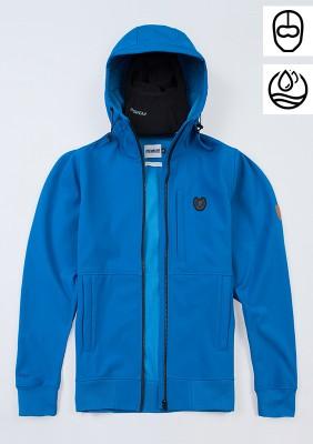 "Full Face Softshell Jacket ""Ghost"" Blue"