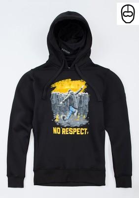 "Full Face Hoodie ""Respectless"""