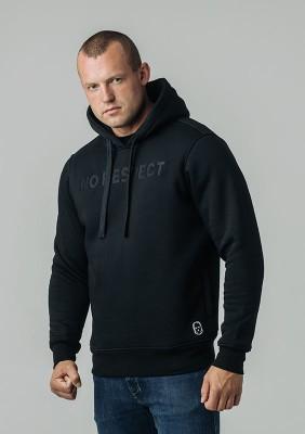 Bluza z kapturem NO RESPECT Craft Black