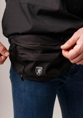 """Belt Bag """"Flame"""" Black"""
