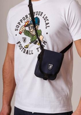 """Shoulder Bag """"Pusher"""" Navy"""