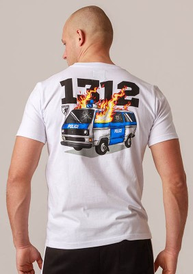 "T-shirt ""Burning Car"""