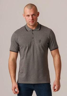 "Polo ""Crest"" Grey"