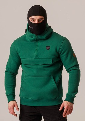 "Full Face Hoodie ""Armory"" Green"