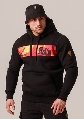 "Full Face Hoodie ""Pyroshow"""