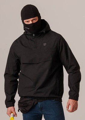 "Full Face Jacket ""Contraband"" Black"
