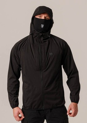 "Mask Softshell Jacket ""Sector"" Black"