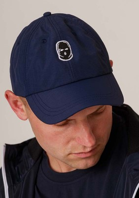 NRBSS202104 Baseball Cap NO RESPECT Summer21 Navy