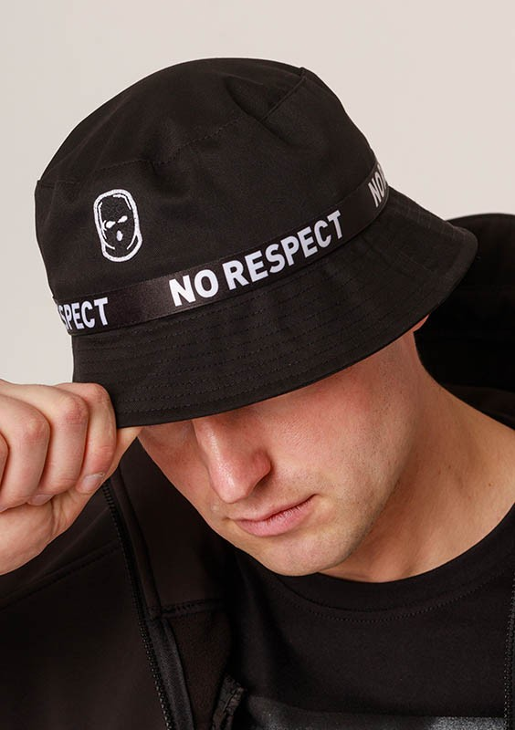NRBSS202105 Bucket Hat NO RESPECT