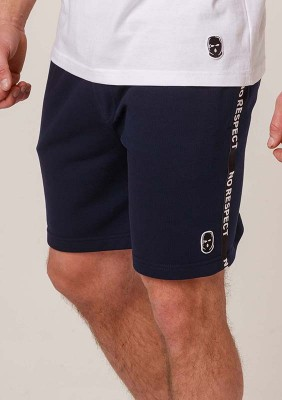 NRBSS202107 Shorts NO RESPECT Cotton Navy S