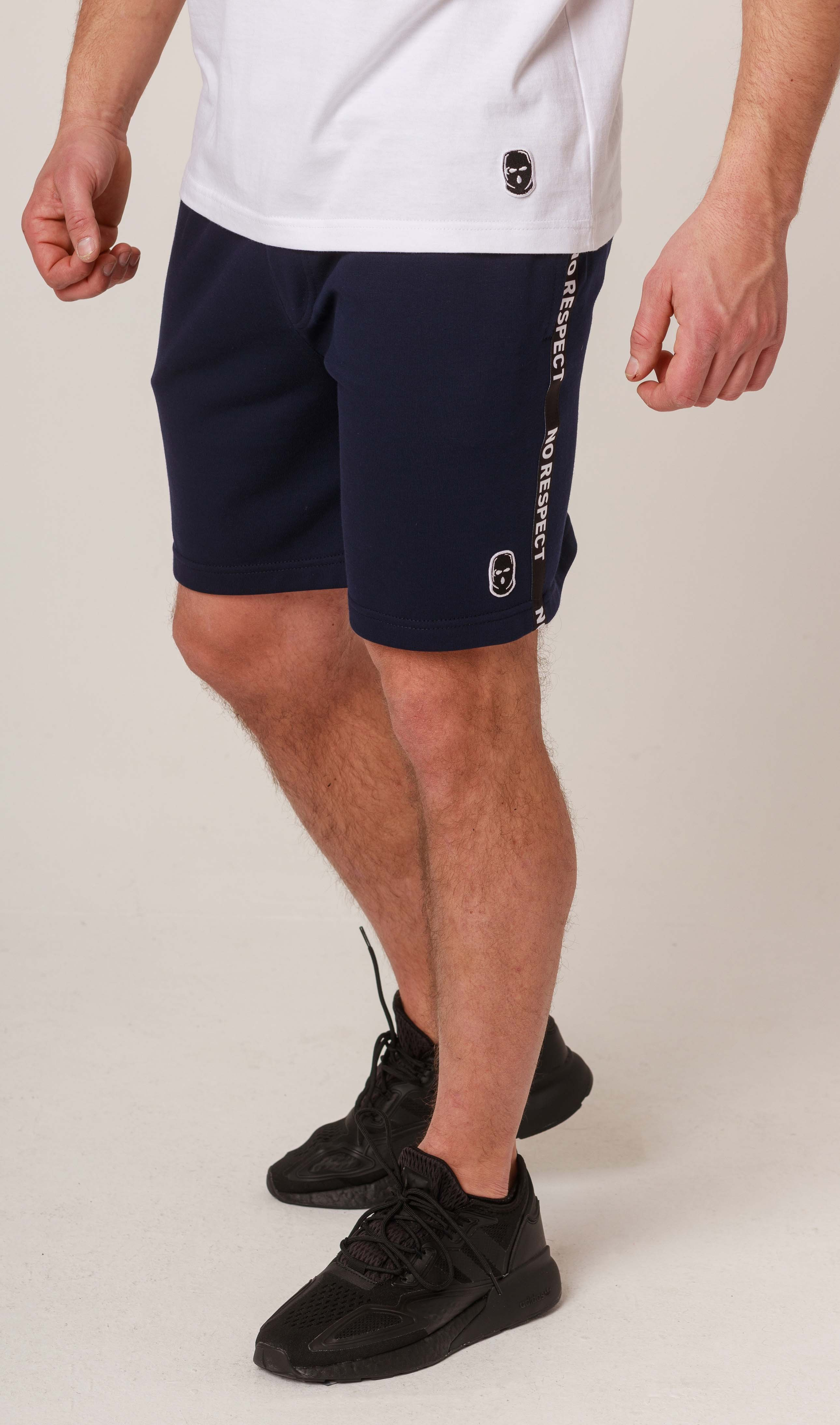 NRBSS202107 Shorts NO RESPECT Cotton Navy S