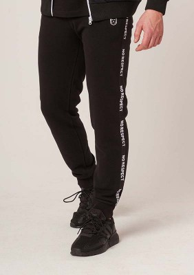 NRBSS202111 Sweatpants NO RESPECT Black S