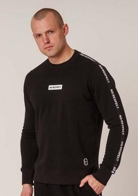 NRBSS202123 Sweatshirt NO RESPECT Banner S