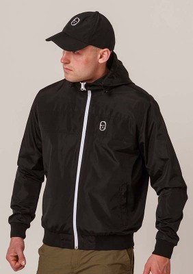 NRBSS202129 Windbreaker NO RESPECT Black S