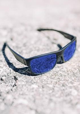 Sonnenbrille NO FACE - NO CASE III Blue
