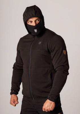 """Mask Hoodie """"Hooligan"""" Black"""