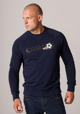 """Sweatshirt """"Casuals"""" Navy"""