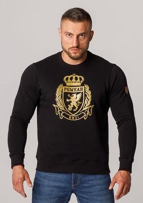 """Sweatshirt """"Crown"""" Black"""