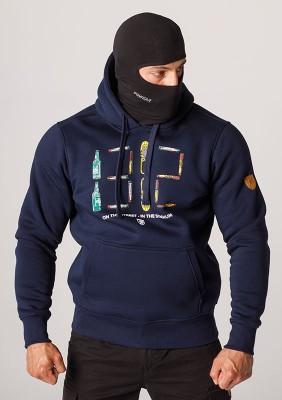 """Full Face Hoodie """"1312"""" Navy"""