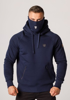 """Full Face Hoodie """"Rioter"""" Navy"""