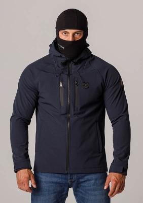 "Full Face Softshell Jacket ""Aggresive"" Navy"