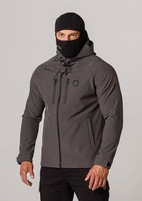 "Full Face Softshell Jacket ""Aggresive"" Grey"