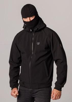 """Full Face Softshell Jacket """"Spectrum"""" Black"""