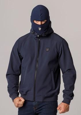 """Full Face Softshell Jacket """"Spectrum"""" Navy"""