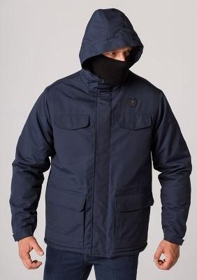 "Mask Jacket ""Army"" Navy"