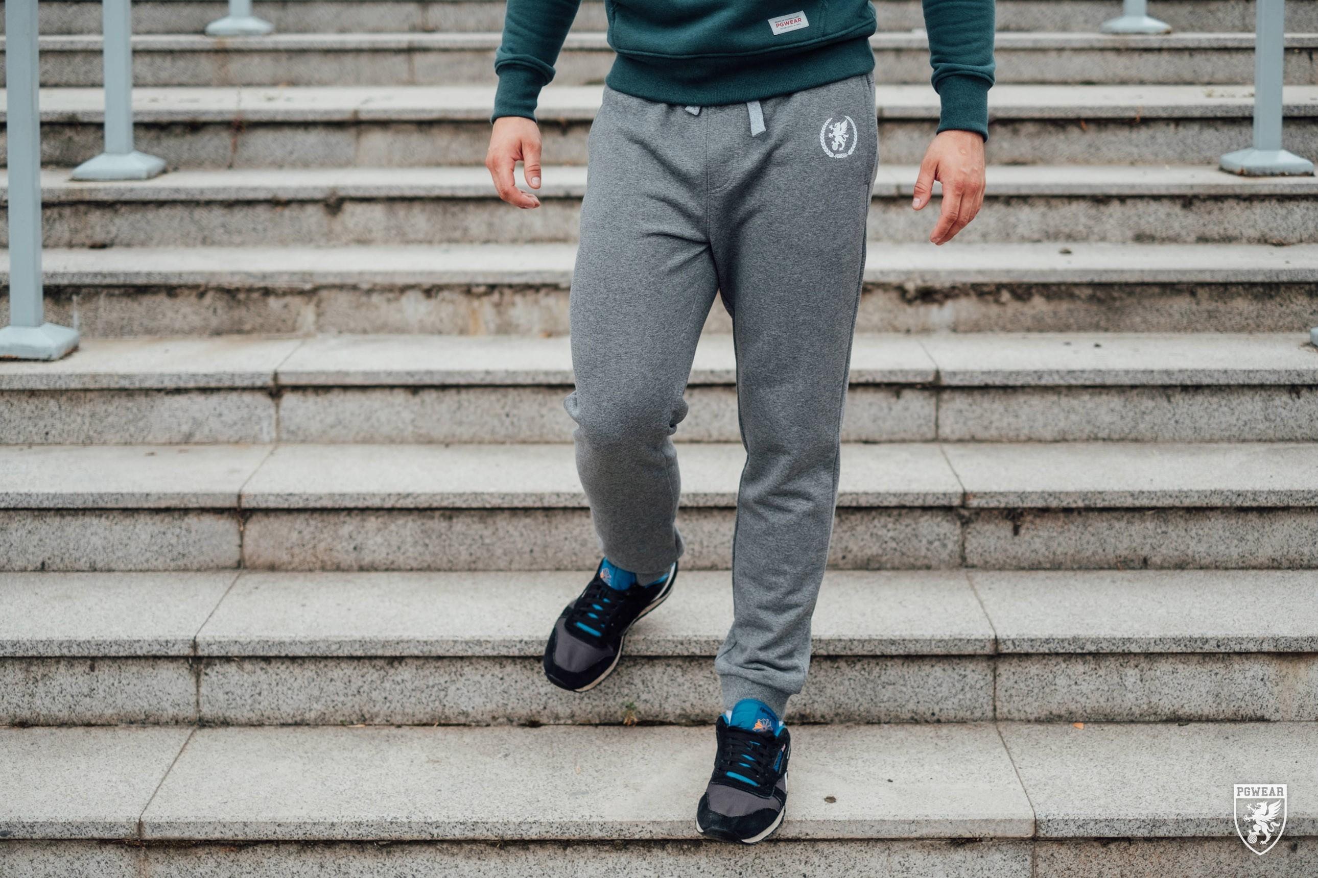Spodnie Dresowe Sprint Grey